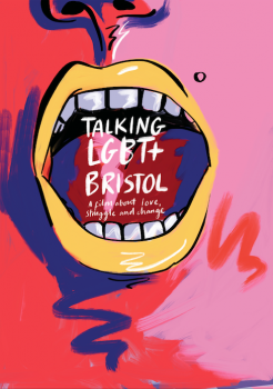 Talking LGBT+ Bristol independent film poster