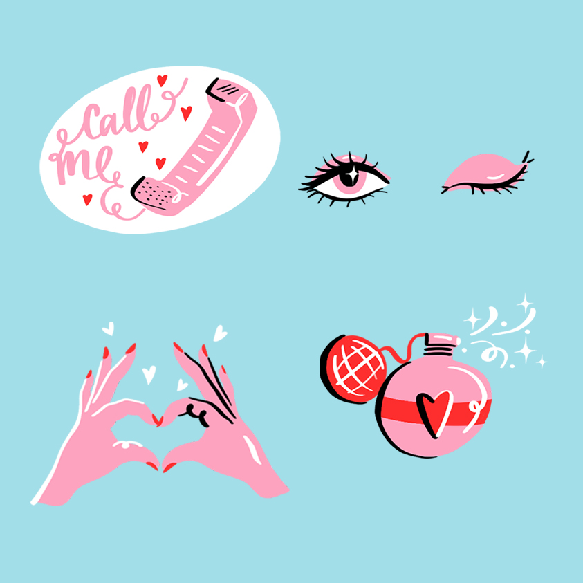 Call Me Maybe Sticker Pack 2